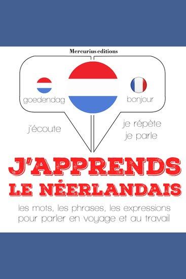 J'apprends le néerlandais - cover