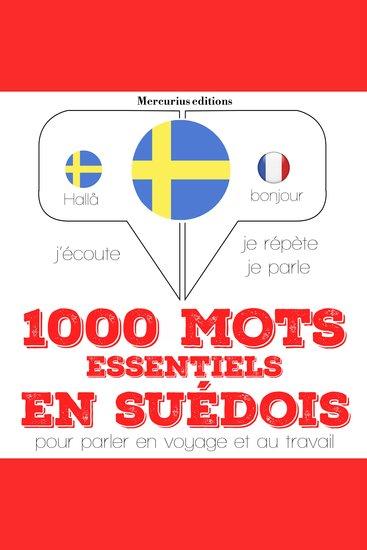 1000 mots essentiels en suédois - cover