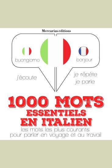 1000 mots essentiels en italien - cover