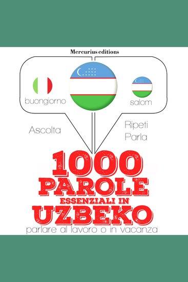 1000 parole essenziali in Uzbeko - cover