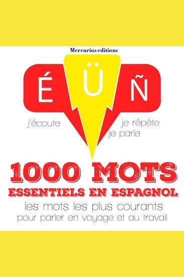 1000 mots essentiels en espagnol - cover