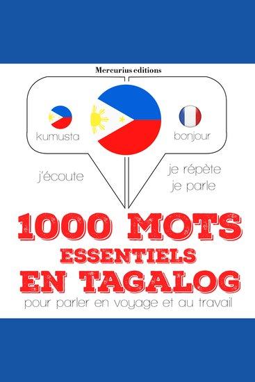 1000 mots essentiels en tagalog - cover