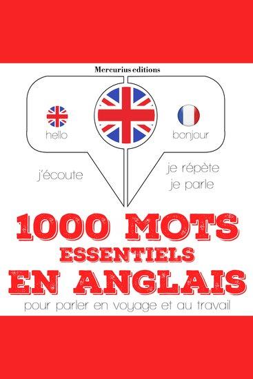 1000 mots essentiels en anglais - cover