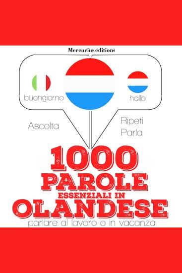 1000 parole essenziali in Olandese - cover