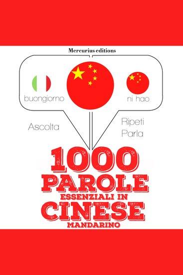 1000 parole essenziali in Cinese Mandarino - cover