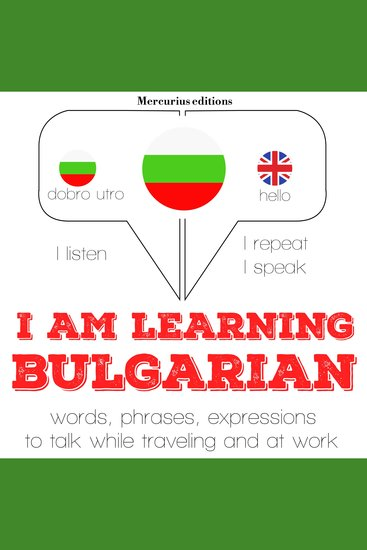 I am learning Bulgarian - cover