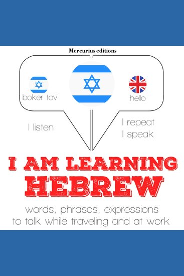 I am learning Hebrew - cover
