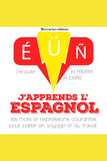 J'apprends l'espagnol - cover