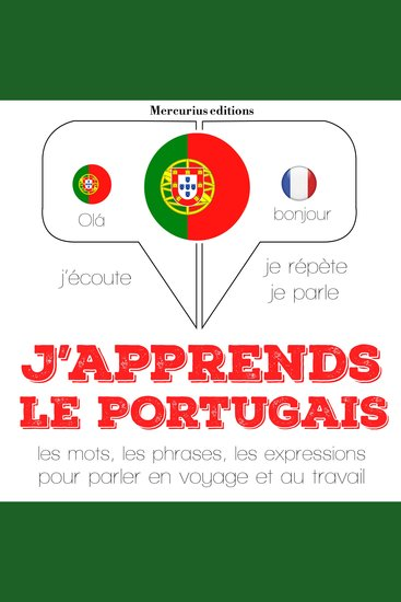 J'apprends le portugais - cover