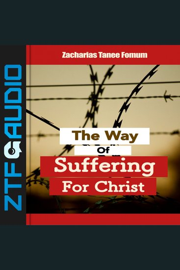 The Way Of Suffering For Christ - cover