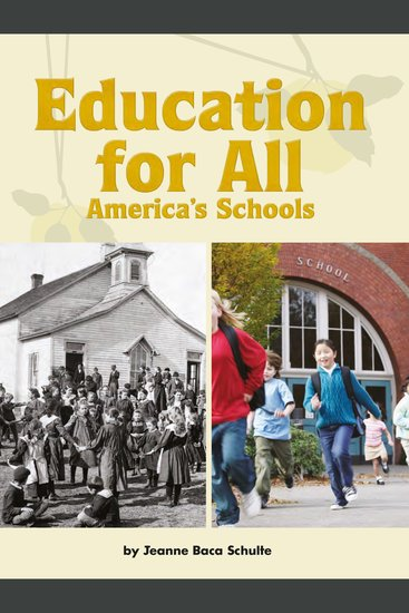 Education for All: America's Schools - cover