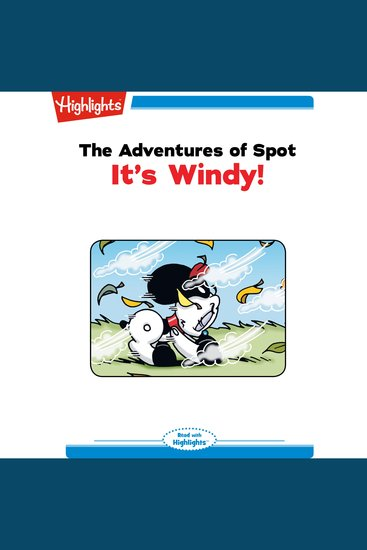 Adventures of Spot The: It's Windy! - Read with Highlights - cover