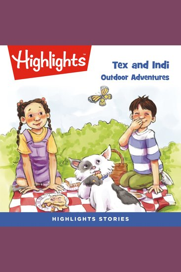 Outdoor Adventures - Tex and Indi - cover