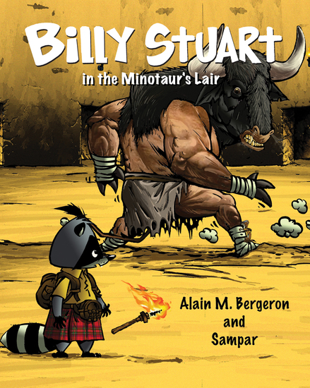 Billy Stuart in the Minotaur's Lair - cover