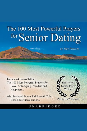 The 100 Most Powerful Prayers for Senior Dating - cover