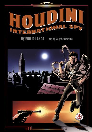 Houdini: International Spy - cover