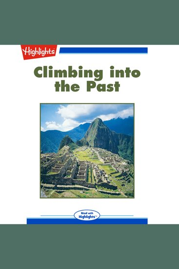 Climbing into the Past - Read with Highlights - cover