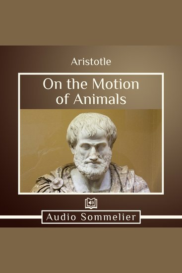 On the Motion of Animals - cover