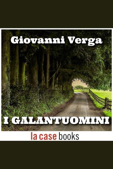 I galantuomini - cover
