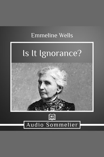 Is It Ignorance? - cover