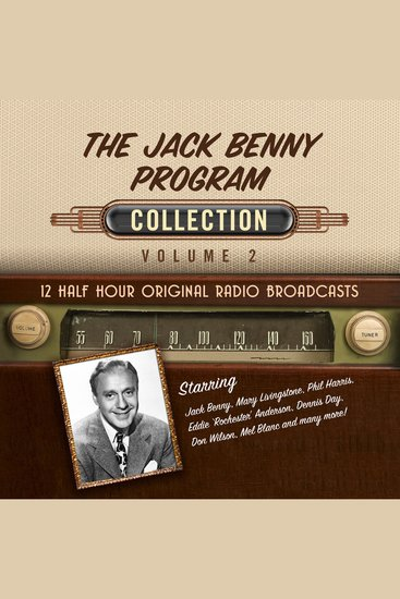 The Jack Benny Program Collection Volume 2 - cover