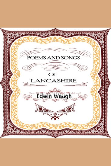 Poems and Songs of Lancashire - cover