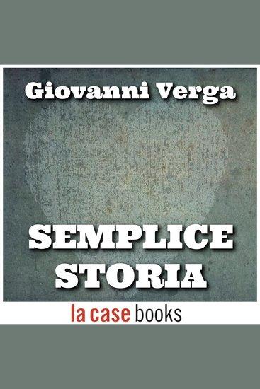 Semplice storia - cover
