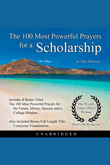 The 100 Most Powerful Prayers for a Scholarship - cover