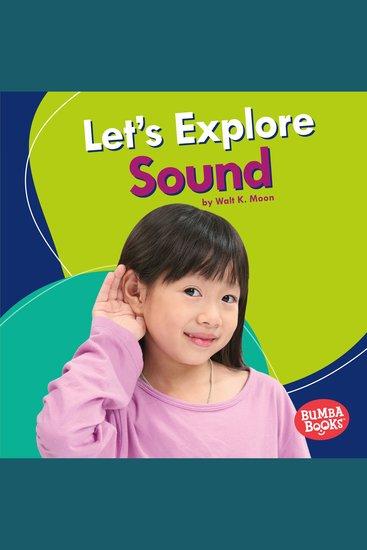 Let's Explore Sound - cover