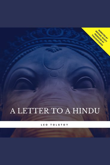 Letter to a Hindu A - cover