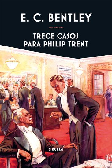Trece casos para Philip Trent - cover