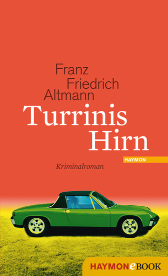 Turrinis Hirn - Kriminalroman - cover