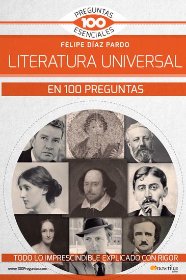 La Literatura universal en 100 preguntas - cover
