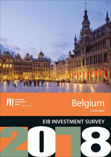 EIB Investment Survey 2018 - Belgium overview - cover