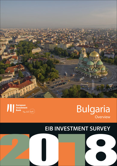 EIB Investment Survey 2018 - Bulgaria overview - cover