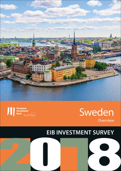 EIB Investment Survey 2018 - Sweden overview - cover