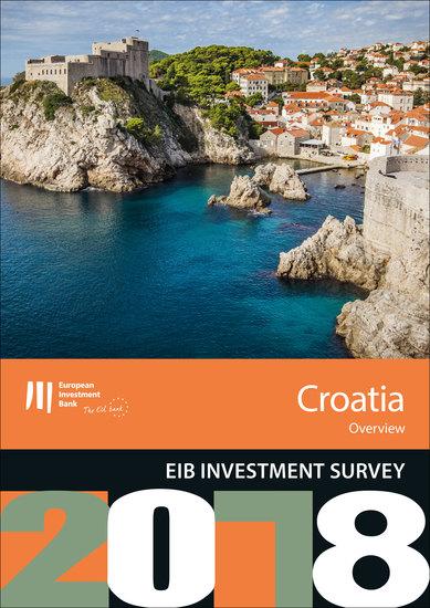 EIB Investment Survey 2018 - Croatia overview - cover