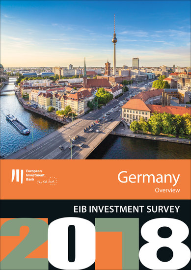 EIB Investment Survey 2018 - Germany overview - cover