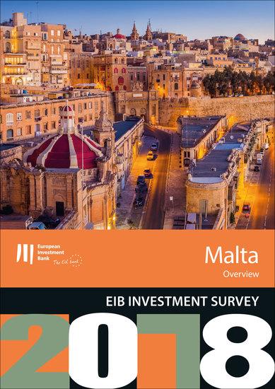 EIB Investment Survey 2018 - Malta overview - cover