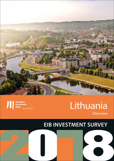 EIB Investment Survey 2018 - Lithuania overview - cover