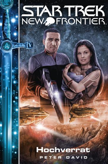 Star Trek - New Frontier 16: Hochverrat - cover