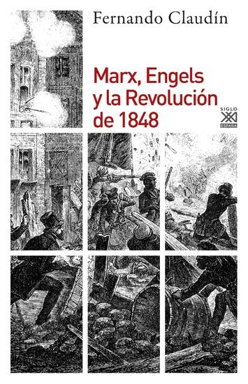 Marx Engels y la revolución de 1848 - cover