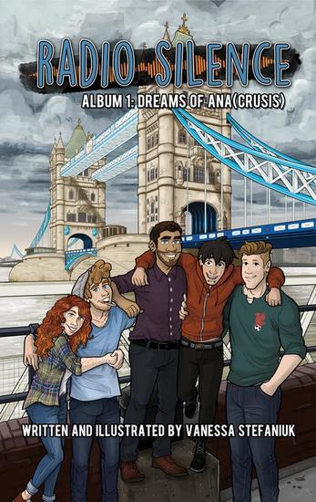 Radio Silence Album 1: Dreams of Ana(crusis) - Radio Silence #1 - cover
