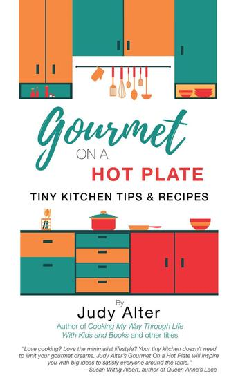 Gourmet on a Hot Plate - cover