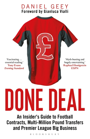 Done Deal - An Insider's Guide to Football Contracts Multi-Million Pound Transfers and Premier League Big Business - cover