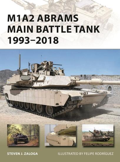 M1A2 Abrams Main Battle Tank 1993–2018 - cover