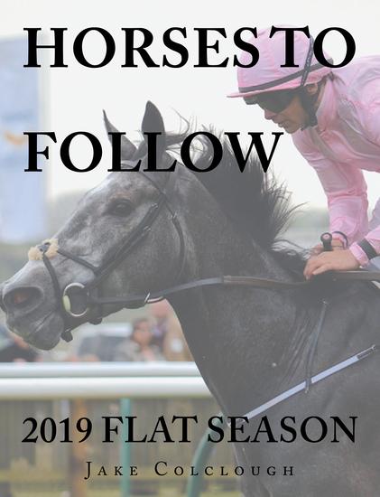 Horses to Follow - 2019 Flat Season - cover