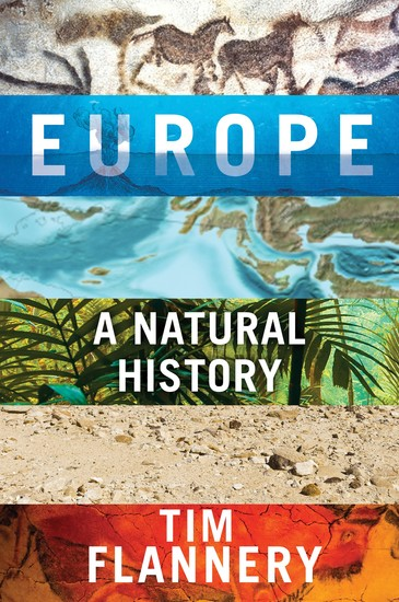 Europe - A Natural History - cover