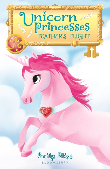Unicorn Princesses 8: Feather's Flight - cover