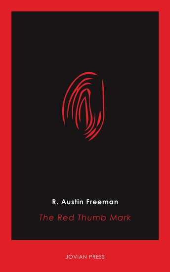 The Red Thumb Mark - cover